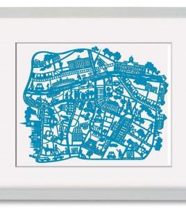 Framed-Dublin-Print-gift