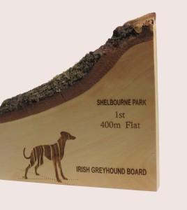 Greyhound Award Rustic