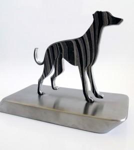 Greyhound Metal Trophy