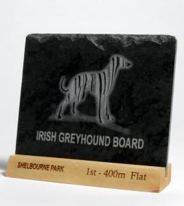 Greyhound Slate Award Flat