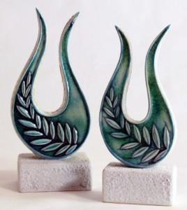 Ceramic-Trophies-Leaf